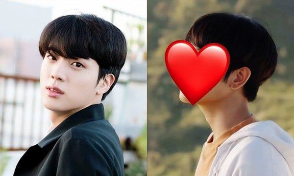 a famous Thai BL film look like Jin (BTS)